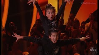 Sky Brown & JT Church - Dancing With The Stars Juniors (DWTS Juniors) Episode 4