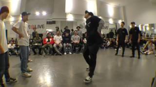 東海大学【MUSTANG】vs 埼玉大学【アナクロニズム X】 BEST8 / DANCE@LIVE 2017 RIZE KANTO CLIMAX