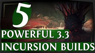 PoE 3.3   5 Powerful League Starter Builds For Flashback League! (Path Of Exile 2018)