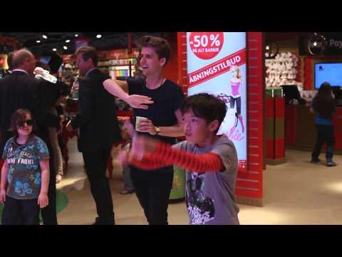 Video af Ballonregn