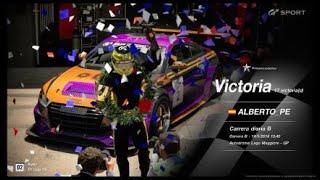 🚩Gran Turismo SPORT Online🚩 Road to Trophy, Record de victorias, 17 Victorias, C.B. Audi TT Cup 16