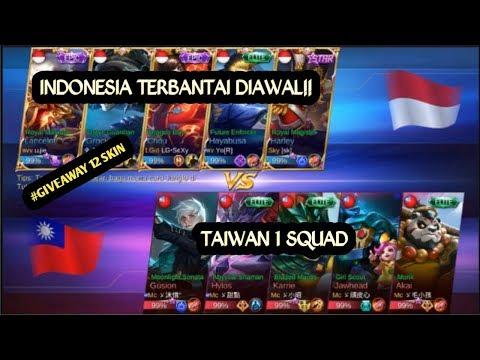 PERJUANGAN TIM INDONESIA COMEBACK DARI KEKALAHAN - ARENA KONTES INDONESIA VS TAIWAN