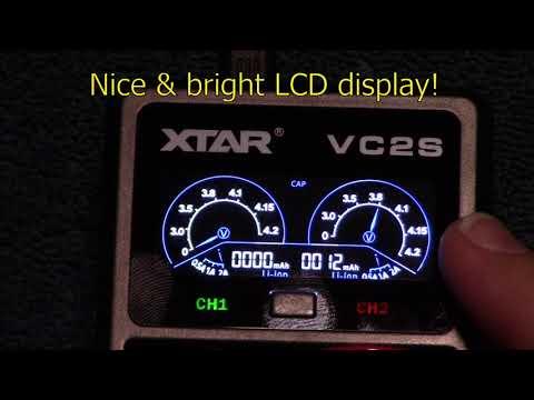 YouTube Video zu Xtar VC2S 2-Schacht USB-Ladegerät