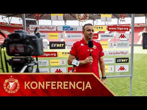 Konferencja prasowa po meczu Widzew Łódź - Stomil Olsztyn