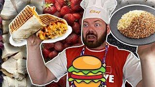 FAST-FOOD FRANÇAIS VS RUSSE - Daniil le Russe