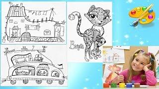 Развитие творческих способностей детей. Уроки рисования. Дудлинг