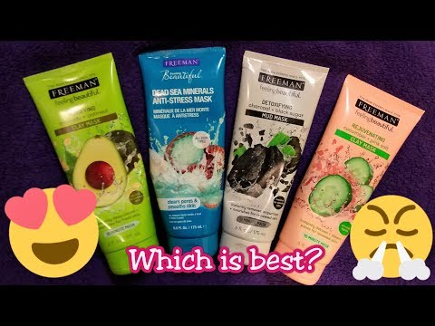 Freeman Feeling Beautiful Mud Masks Comparison + Reviews!!