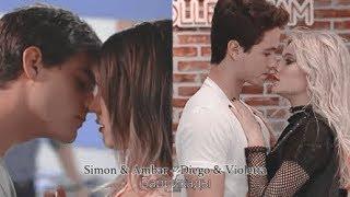 ►Simon & Ambar + Diego & Violetta ll Баррикады