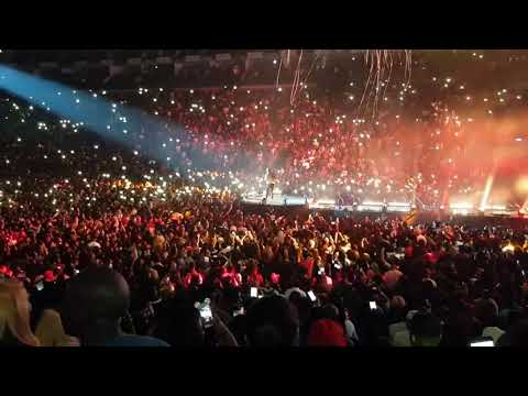 Davido sold out O2 Arena London on stage with Jamaican superstar Popcaan 2019.
