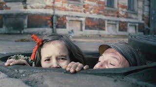 为躲避战争,小女孩藏在污水管道14个月,见证无数罪恶