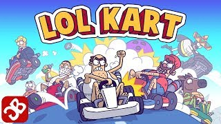 LoL Kart (By Oh BiBi socialtainment) - iOS/Android - Gameplay Video