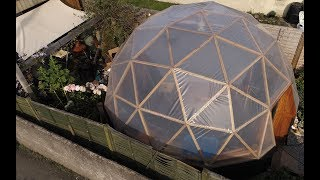 My Geodesic Dome Building Process