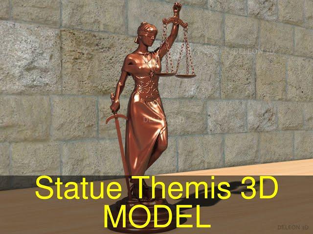 Statue Themis