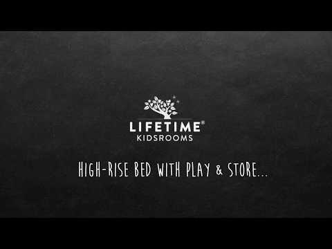 LIFETIME'S MULTIFUNCTIONAL HIGH-RISE BED