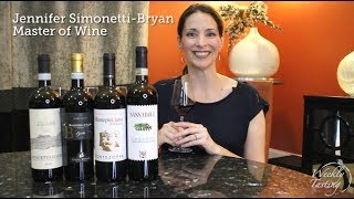 Common Italian Reds - Guided Wine Tasting