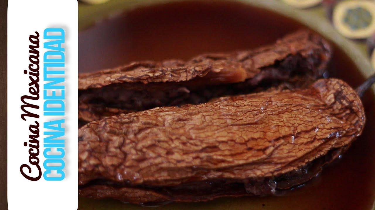 Cómo hacer Chiles Chipoltes Rellenos. Yuri de Gortari