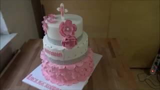 Tauftorte. Torte Zur Taufe ,Baptism Cake