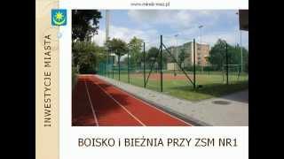 preview picture of video 'Inwestycje Miasta Mińsk Mazowiecki'