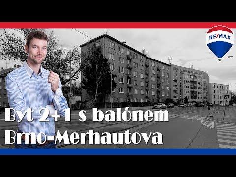 Video Prodej bytu 2+1 v osobním vlastnictví 53 m², Brno