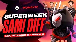 LEC : highlight & voicecomms de la semaine 8 des G2 Esports « Superweek Sami Diff »