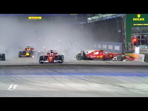 F1: Top Ten Dramatic Moments Of 2017