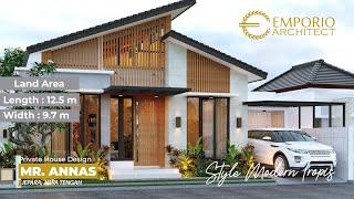 Video Desain Rumah Modern 1 Lantai Bapak Annas di  Jepara, Jawa Tengah