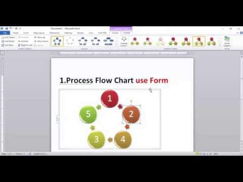 How To Draw Flow Chart With Microsoft  Word Mp3