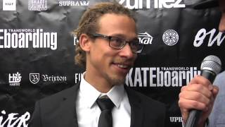 Outliers Red Carpet Interviews   TransWorld SKATEboarding