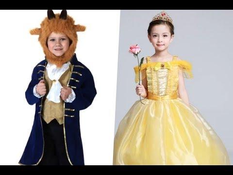 Disfraces de la bella y la bestia para niños