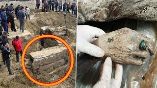 Chinese Road Workers Dug Up a Mysterious Box. What They Found Inside Was Incredible and