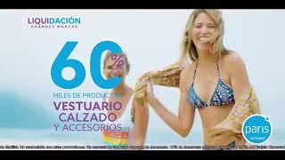 Paris Liquidacion Grandes Marcas de Verano Ven a Paris Con Anna Carina (Peru 2019)