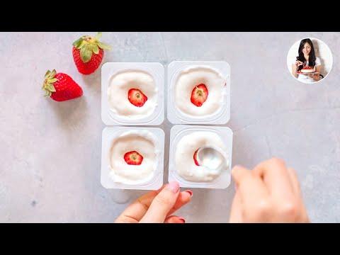 Increíble Postre Realizado Tan Solo Con 1 Yogur