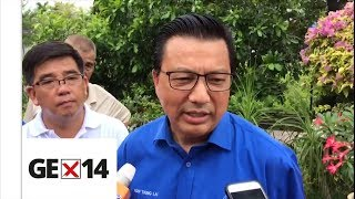 Liow: Nothing wrong with telling people what we've done