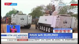 Raia wa Burundi walaumu ripoti ya umoja wa mataifa