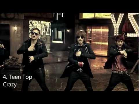 My Top 20 K-pop songs (1-14 January) 2012