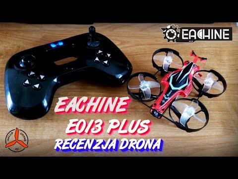 Eachine E013 PLUS - recenzja drona z kamerą FPV, ACRO dla początkujących (REVIEW)