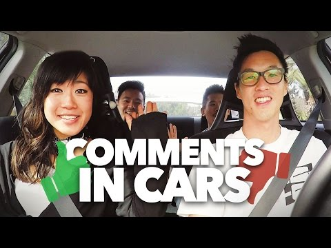 COMMENTS IN CARS! -