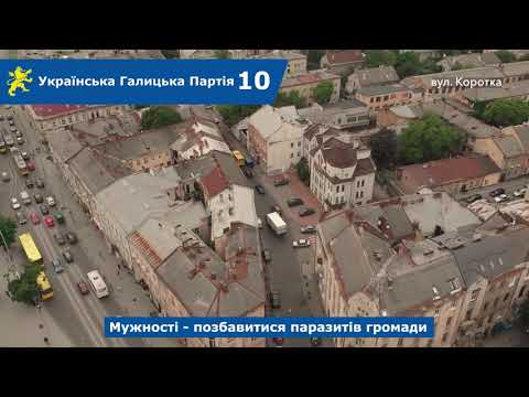Над Левом: вул. Братів Міхновських, Коротка, Хотинська