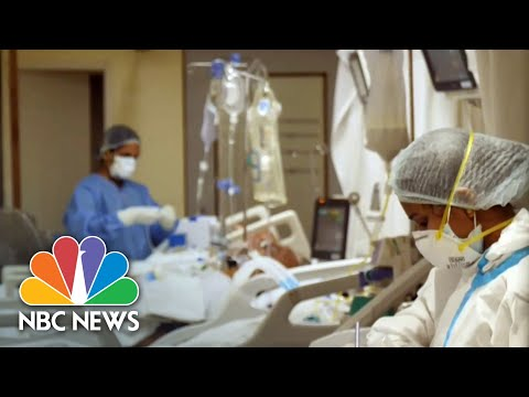 Hospitals Desperate For Oxygen As India Battles Covid Crisis | NBC Nightly News