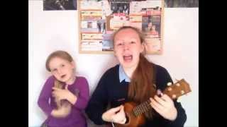 Stuck The Way We Are Cover ft. my annoying little sister!