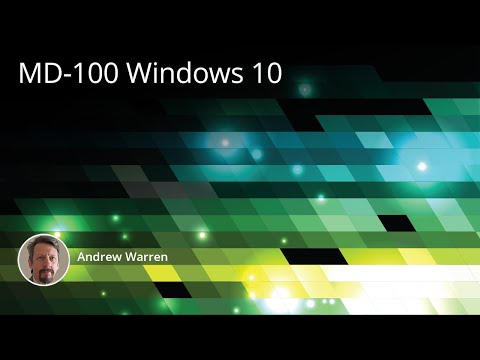 MD-100 Microsoft Windows 10 Training Course Preview - YouTube