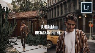 IAMGALLA Instagram Filter Tutorial (@iamgalla)