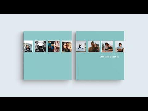 """Inspiración para diseñar las portadas de tu álbum digital: """"Amigos para siempre"""""""