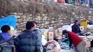 preview picture of video '349. Bazar w Namche Bazaar. Bazaar in Namche Bazaar'