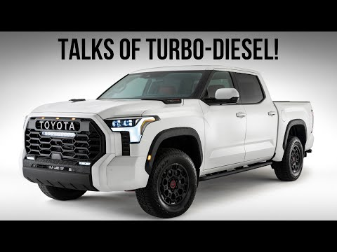 Here's What We Know About The [Rumored] 2022 Toyota Tundra Diesel