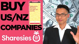 How to Buy NZ and US Company Shares w/ Sharesies for Beginners 2020