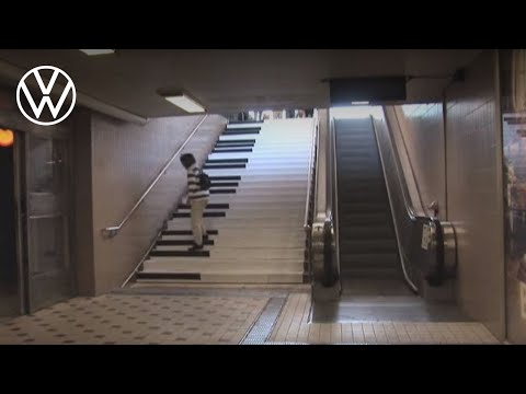 Would You Choose to Take the Piano Stairs Instead?