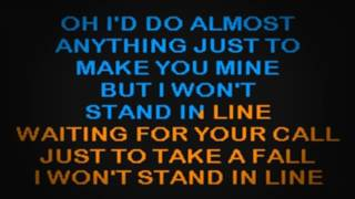 SC2126 03   McEntire, Reba   I Won't Stand In Line [karaoke]
