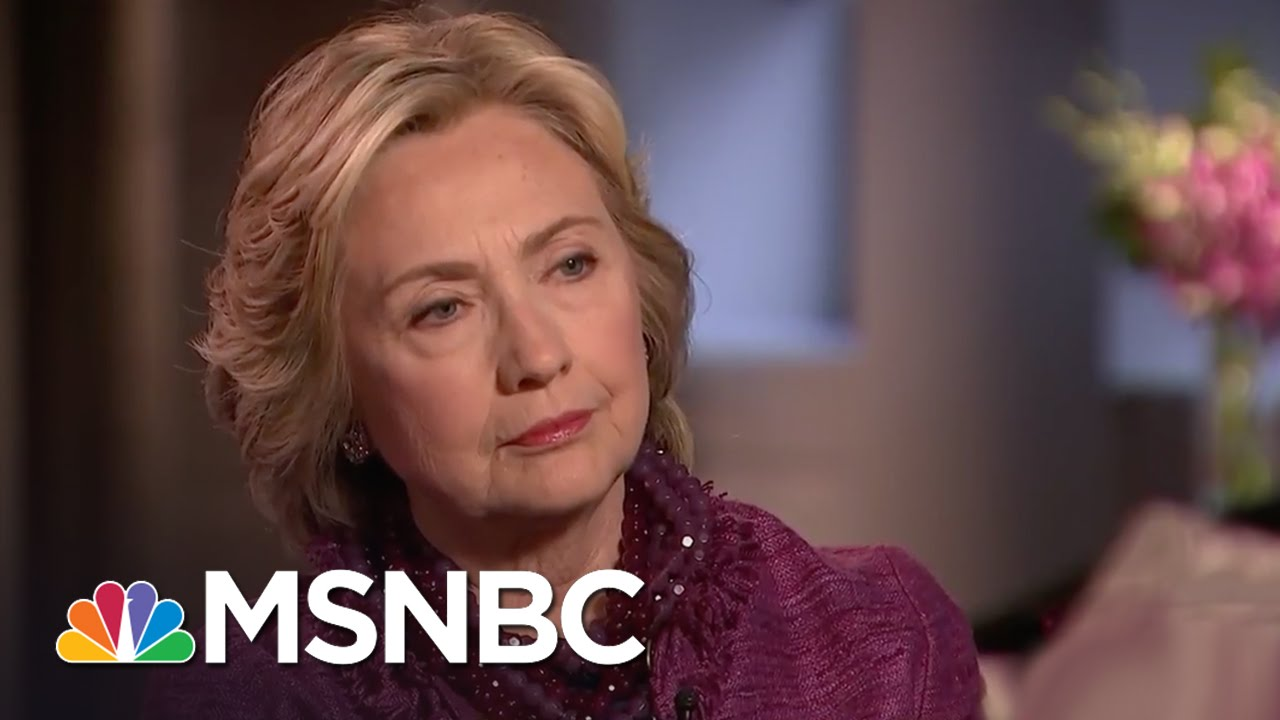 Hillary Clinton On McCarthy Comments: 'I Find Them Deeply Distressing' | MSNBC thumbnail