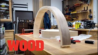 How To Make a Curved Table Apron with Bending Wood - WOOD magazine